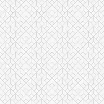 Nahtloses vektormuster in der islamischen artbeschaffenheit oder in der geometrischen quadratischen rechteckigen formverzierung