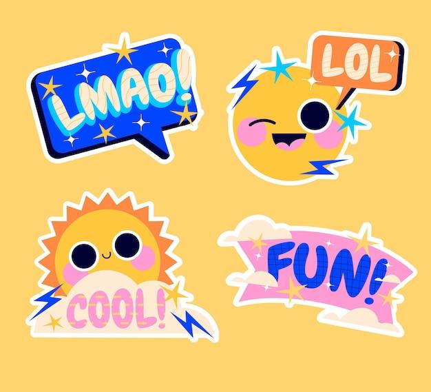 Naive lol sticker-sammlung