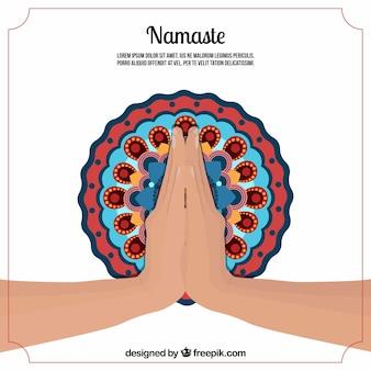 Namaste hintergrund