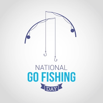 National go fishing tag