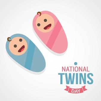 Nationaler zwillingstag