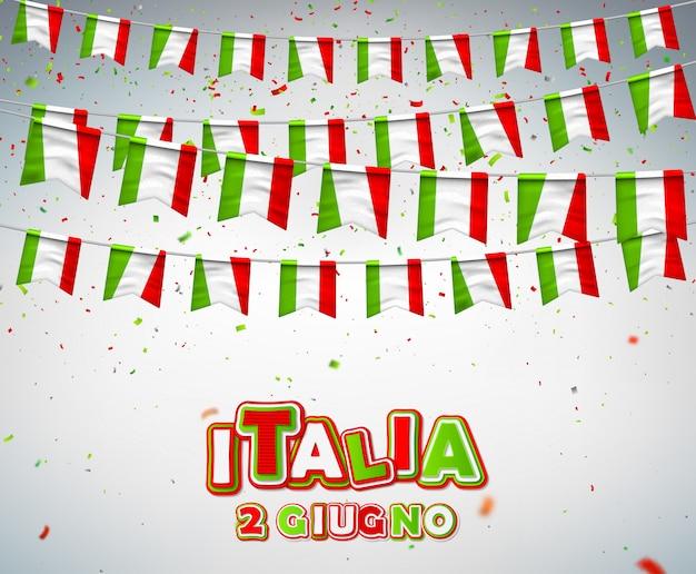 Nationalfeiertag der italienischen republik