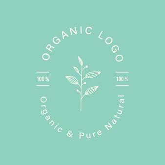 Natürlich und organisch für branding und corporate identity