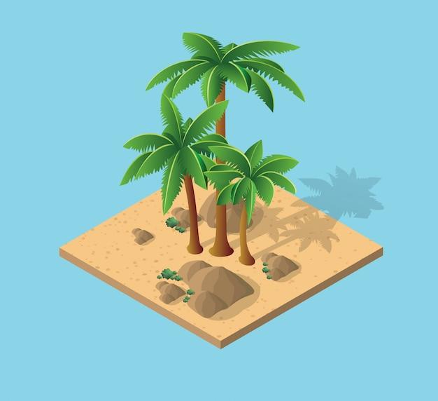 Natürliche wüstenlandschaft