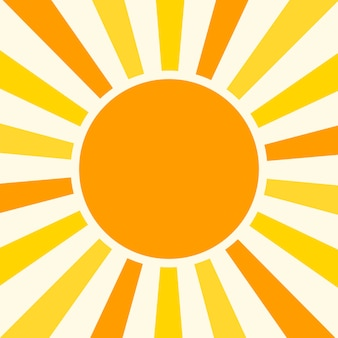 Natürlicher sunny background vector illustration