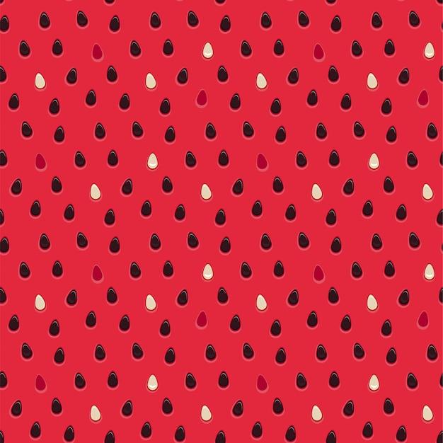 Natürliches beschaffenheitslebensmittel innerhalb des nahtlosen musters der wassermelone