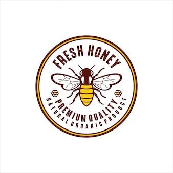 Natürliches bio-produkt aus frischem honig