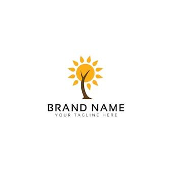 Natürliches energie-logo