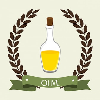 Natürliches olivenöl
