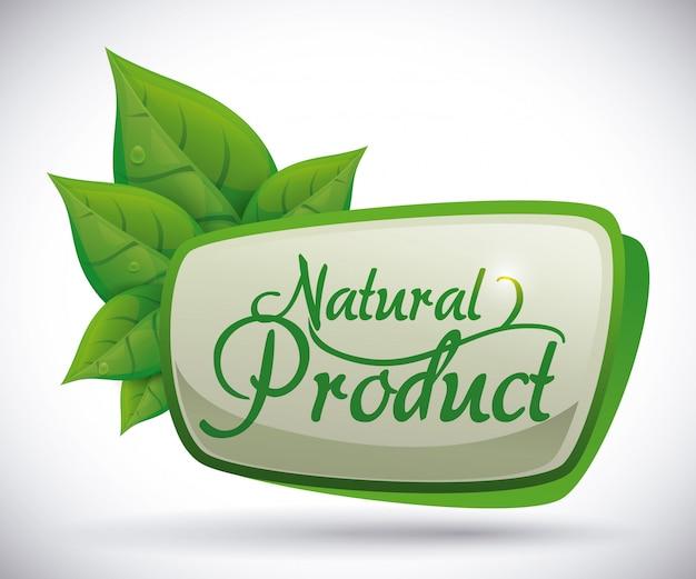 Natürliches produktdesign.