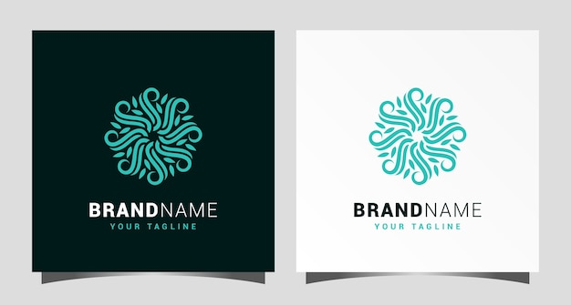 Natur business logo vorlage