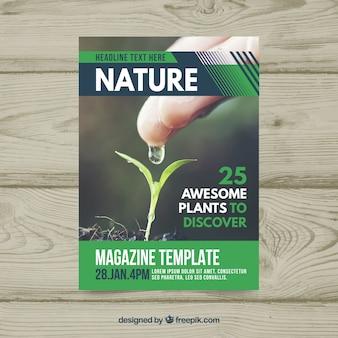 Natur-cover-vorlage
