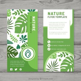 Natur-flyer vorlage