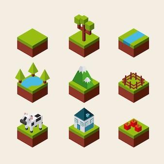 Natur in pixeldesign