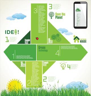 Natur infografik