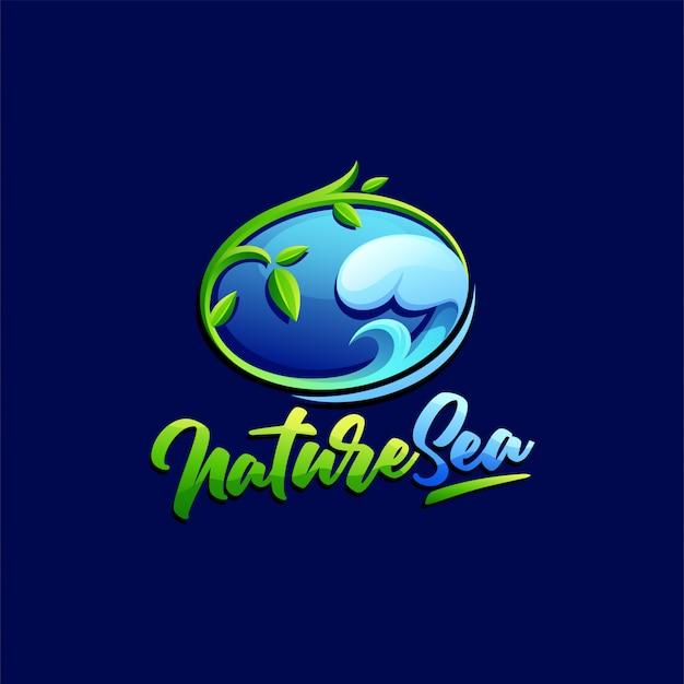 Natur-logo-vorlage