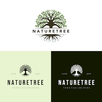 Naturbaumlogosatzweinlese