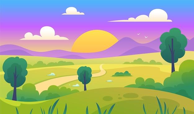 Naturlandschaft - hintergrund für videokonferenzen