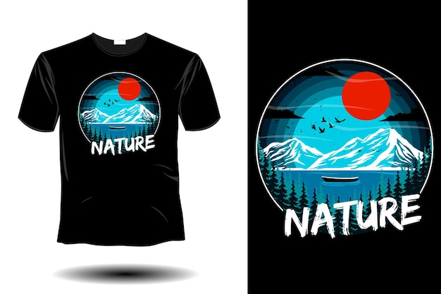 Naturmodell retro-vintage-design