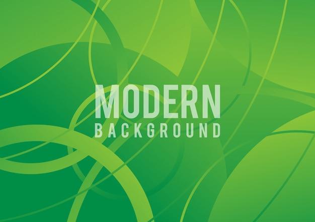 Natursteigungshintergrund mit hellem sonnenlicht. abstrakter grüner unscharfer hintergrund. ökologiekonzept für ihr grafikdesign, fahne oder plakat. vektor-illustration