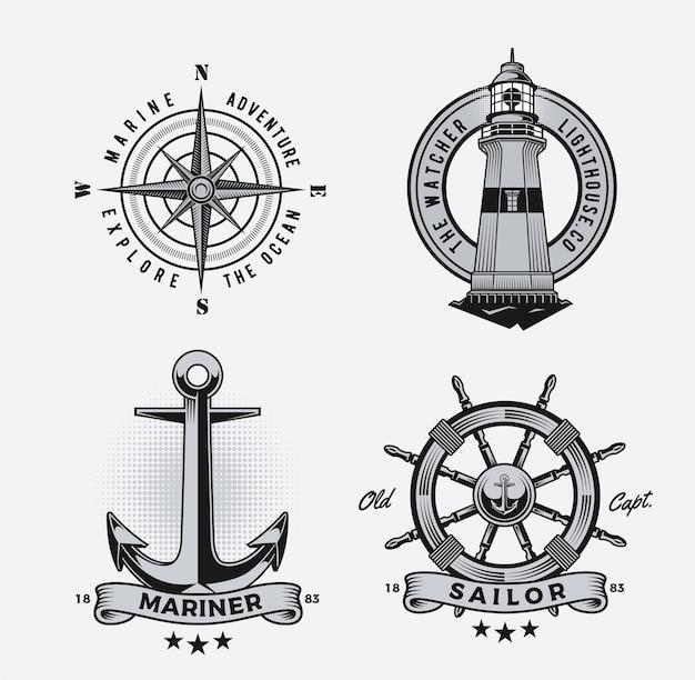 Nautische illustrationen