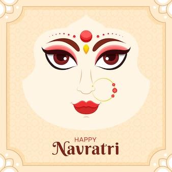 Navratri festival design