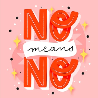 Nein bedeutet keine beschriftung