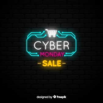 Neon-cyber-montag-banner