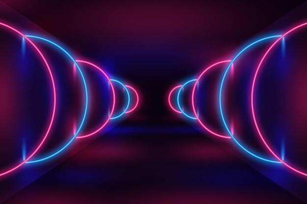 Neon-design-hintergrund