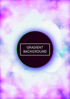 Neon-hintergrund. abstrakte textur. lebendige punkte. holographische flüssigkeit. heller bildschirm. violette retro-präsentation. dynamischer flyer. tech perlglanz-zusammensetzung. lila neon-hintergrund