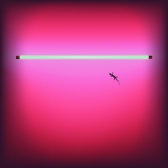 Neon sexy shop-bar-schild-vektor-illustration