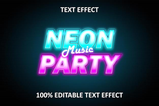 Neoneffekt musik editierbarer texteffekt rosa blau pink