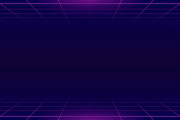 Neongitterhintergrund