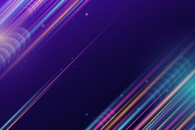 Neonhintergrund der gradientengeschwindigkeitsbewegung