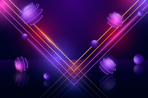 Neonlicht-hintergrunddesign