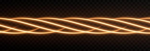 Neonlicht lichteffekt