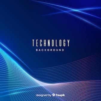 Neonlicht-technologie hintergrund