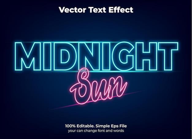Neonlicht-texteffekt