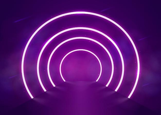 Neonlichter hintergrund