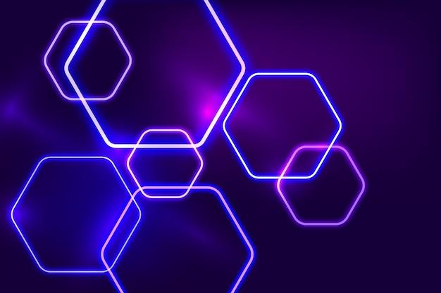 Neonlichter hintergrundstil