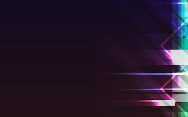Neonlichthintergrund