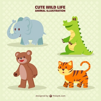 Nette animal collection