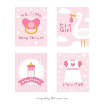 Nette babykartensammlung