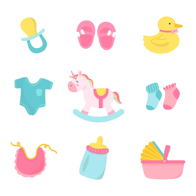 Nette babykinderzimmerdekoration