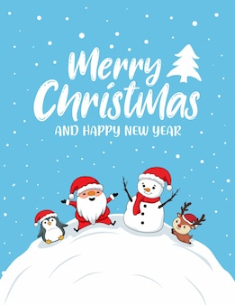 Nette frohe weihnachtskarten