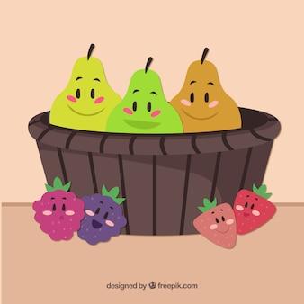 Nette früchte