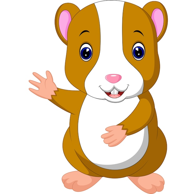 Nette hamsterstellung