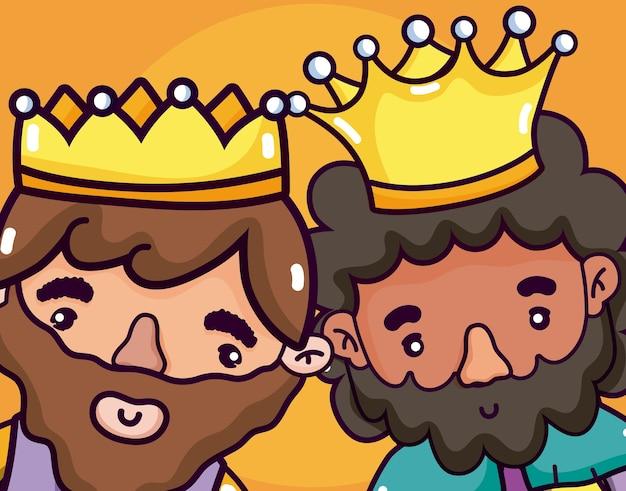 Nette könig cartoons