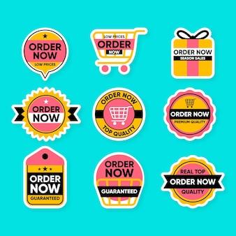 Nette sammlung von bestellaufklebern jetzt bestellen