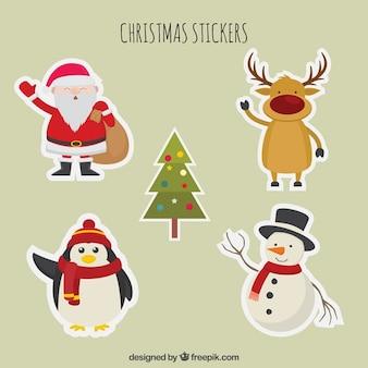 Nette weihnachts zeichen textpack